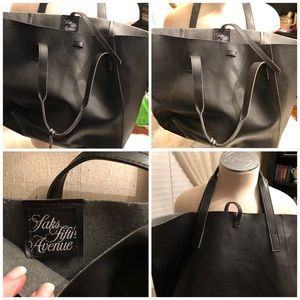 Big Black Bag 19x12x7